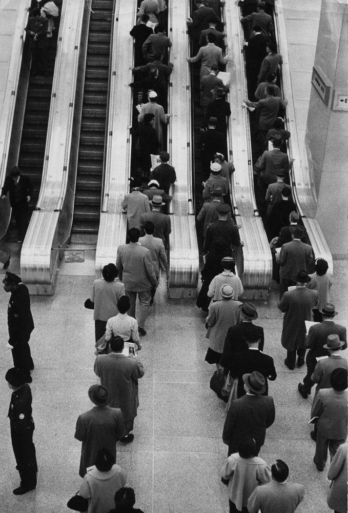 Sabine Weiss-Grand Central Terminal, New York