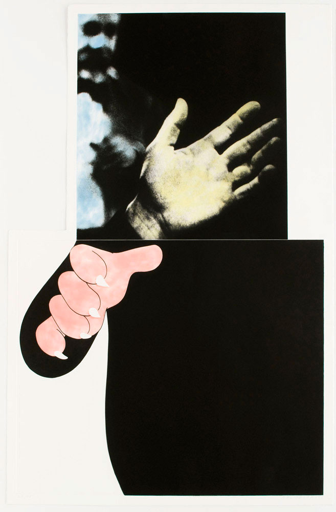 Two Hands (with Distant Figure), 1989