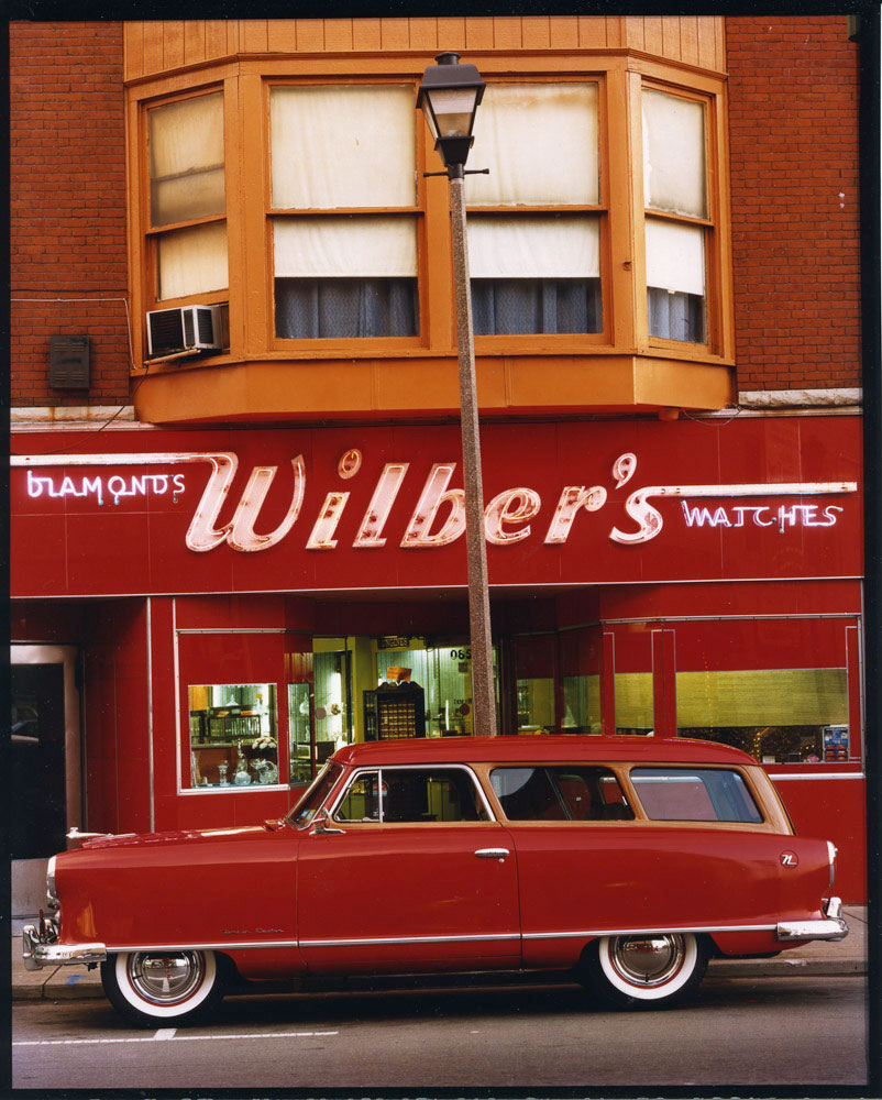 1954 Nash Rambler, Wilber's Jewelers, Johnson CIty, NY, c. 1987
