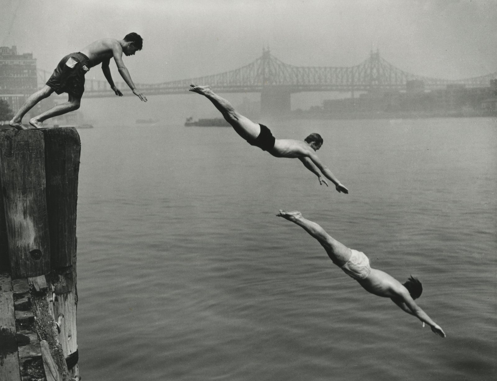 Divers, East River, 1948