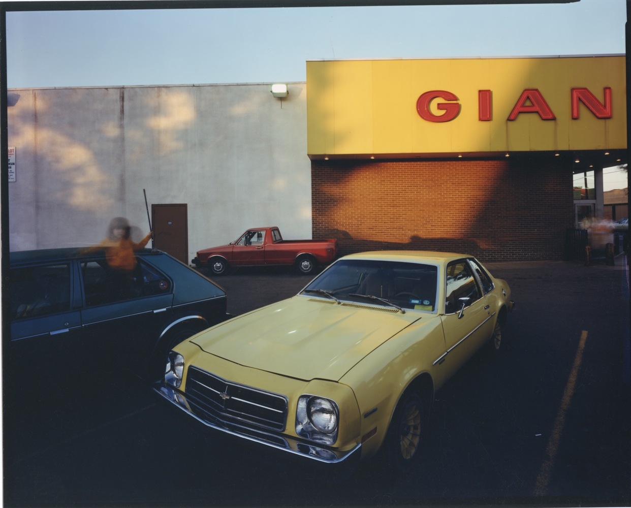 1971 ChevroletMonza, Giant Supermarket, Upstate NY, c. 1987