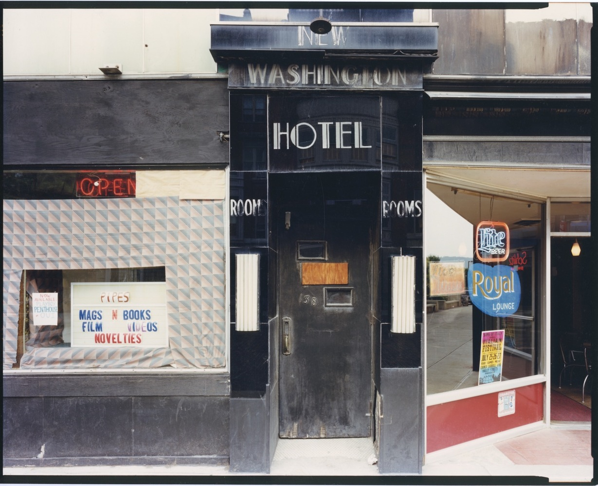 New Washington Hotel, Binghamton, NY, c. 1986