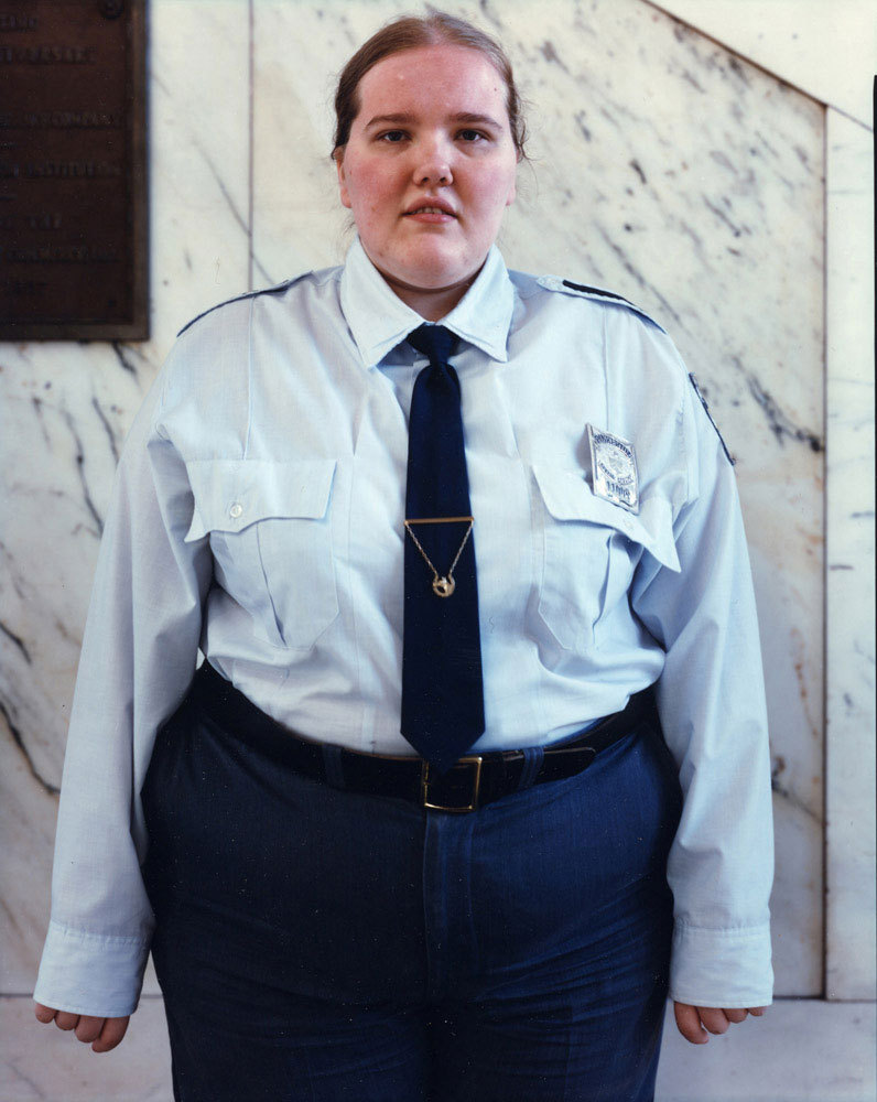 Security guard, Binghamton, NY, 1987