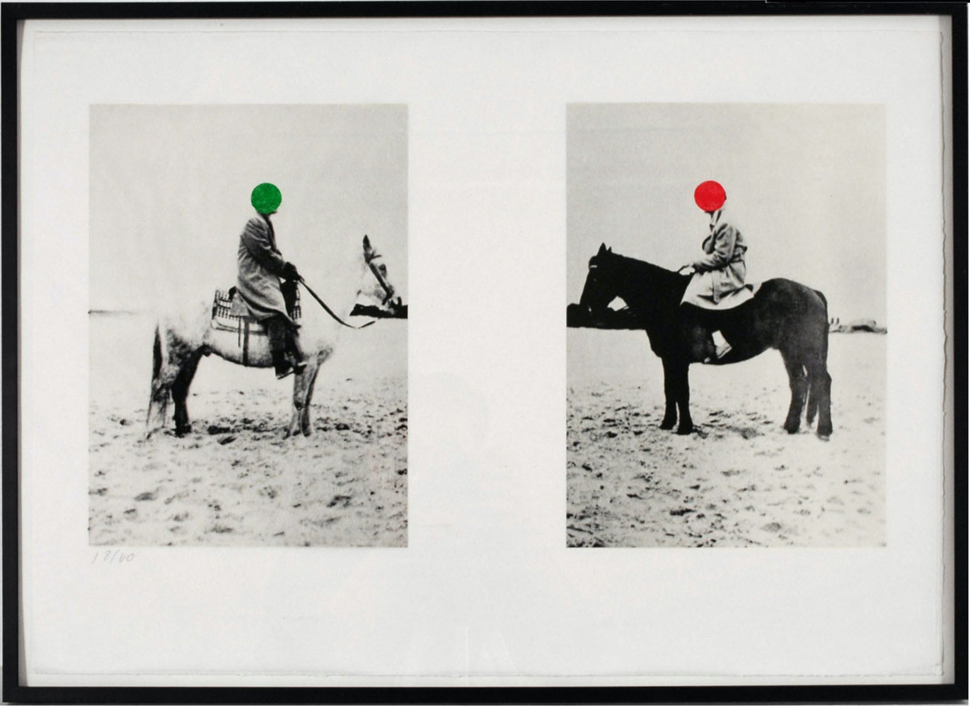 Two Horses and Riders, 1997