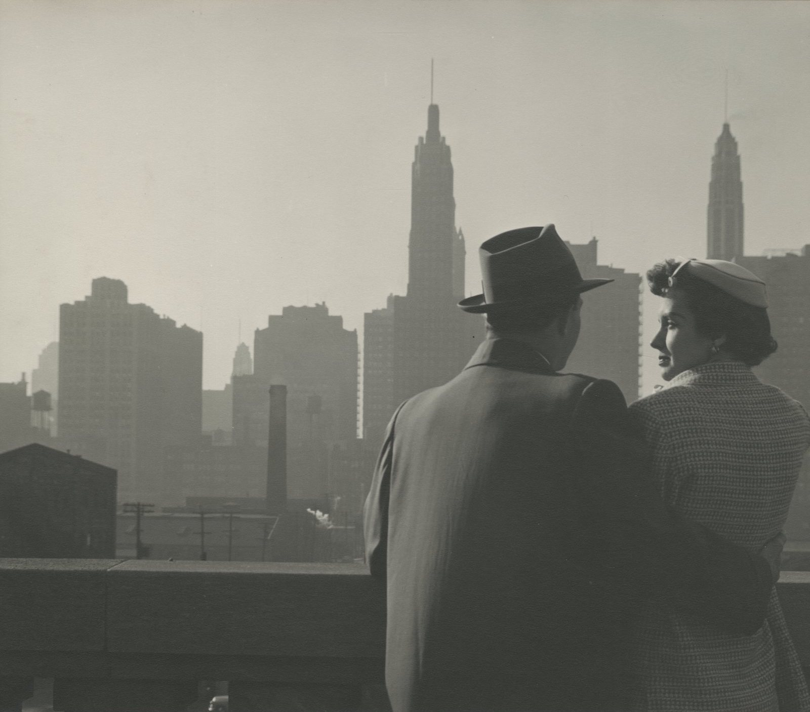 Couple, Chicago, c. 1940