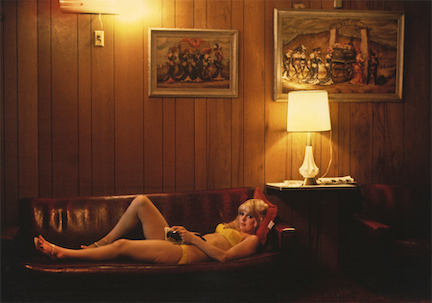 Marvin E. Newman-Woman Lying Down on Couch, Mustang Ranch, Reno, Nevada