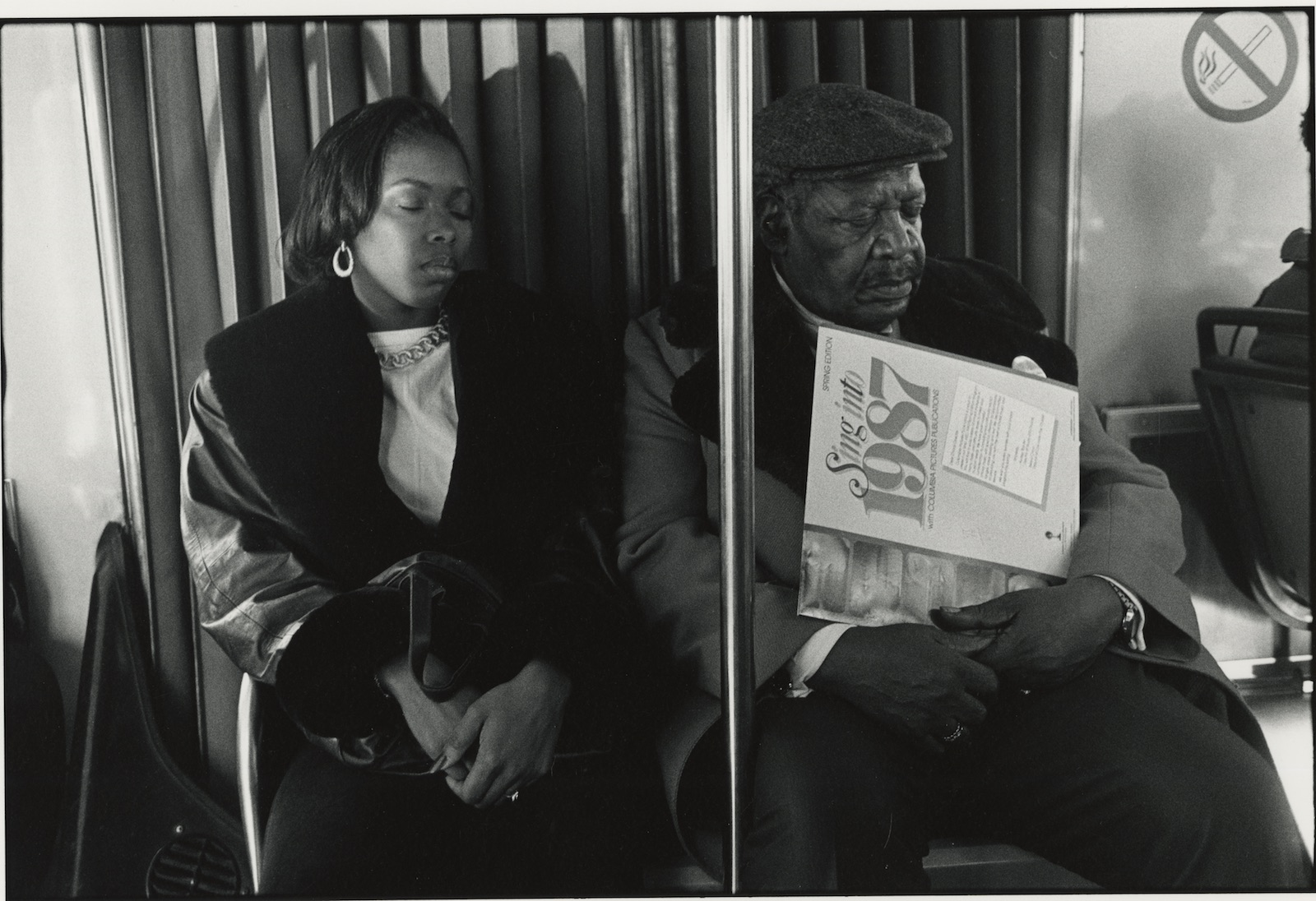 Tom Arndt-Two people on a bus, Chicago