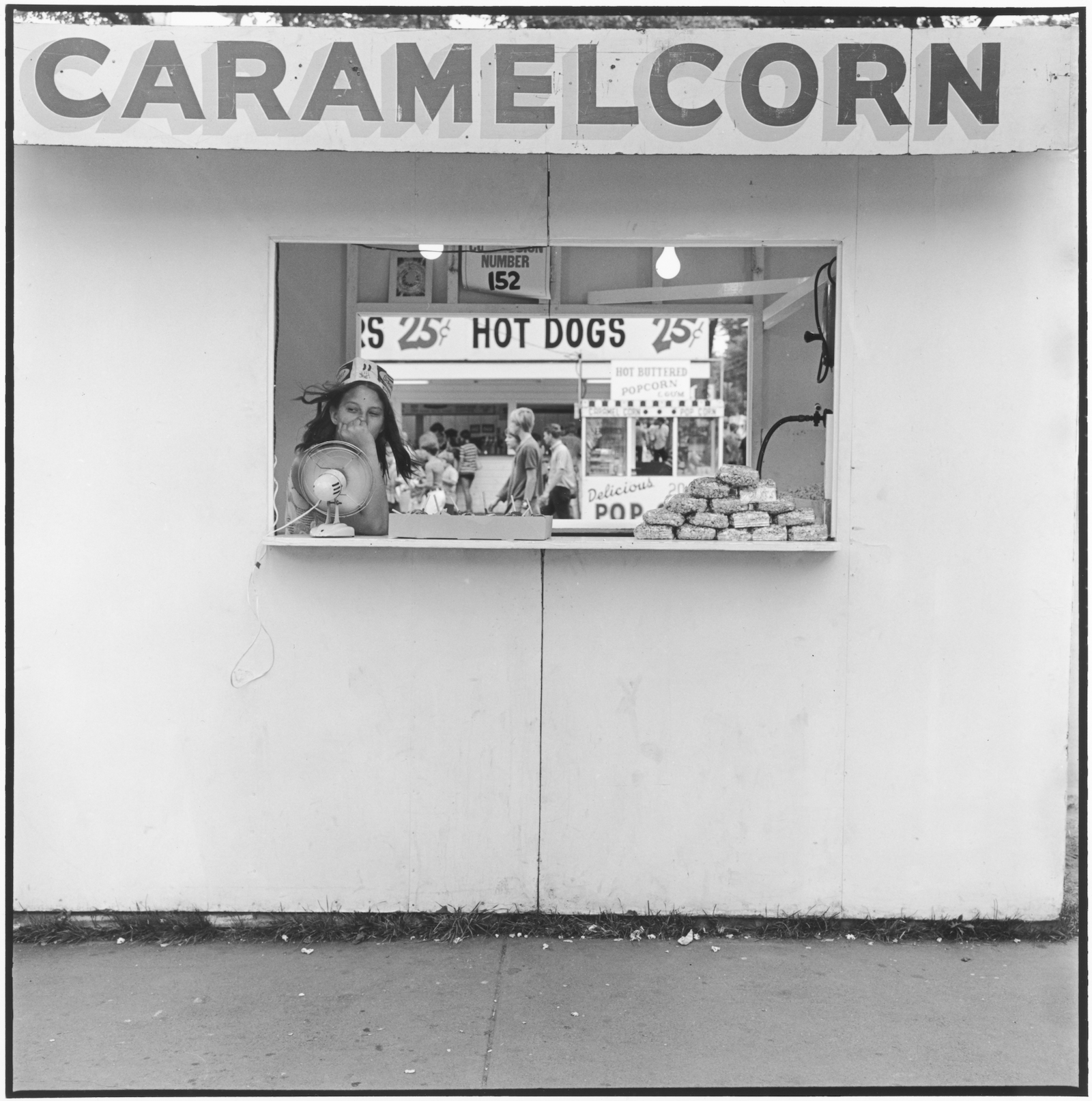 Caramel Corn, Minnesota State Fair, St. Paul, Minnesota, 1973